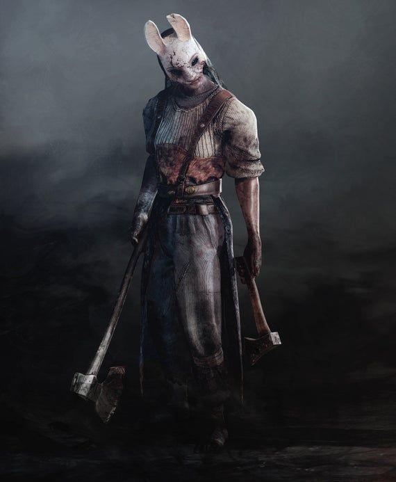 Dead By Daylight Inspire Huntress Mask Anna Cosplay Costume Video Game In 2020 Huntress Huntress Cosplay Dead