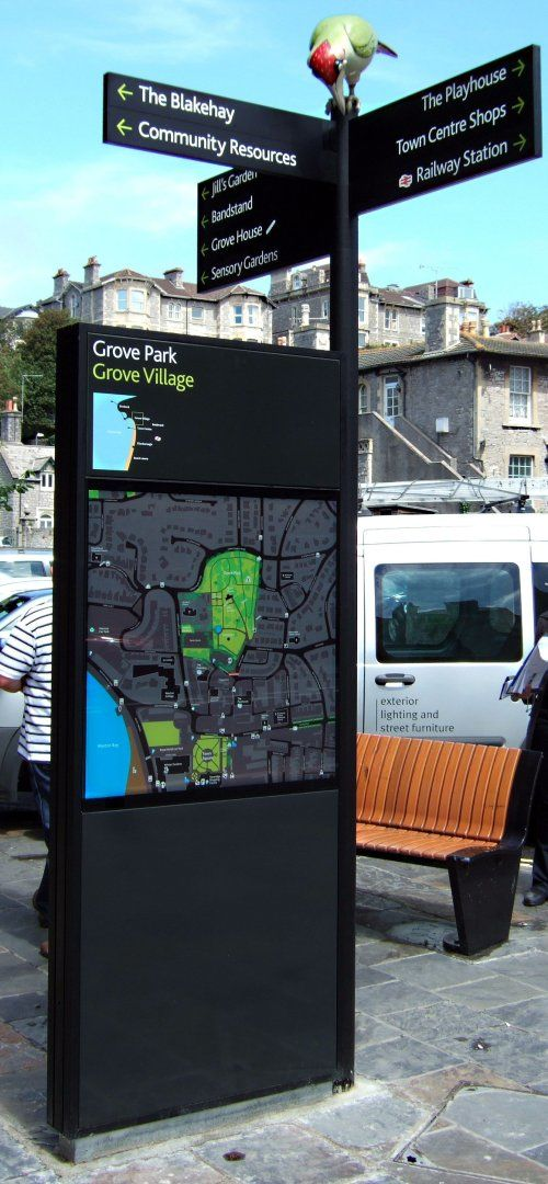 Image: Weston Super Mare Way Finding Monolith. #interactivesignage #digitalsignage #wayfinding