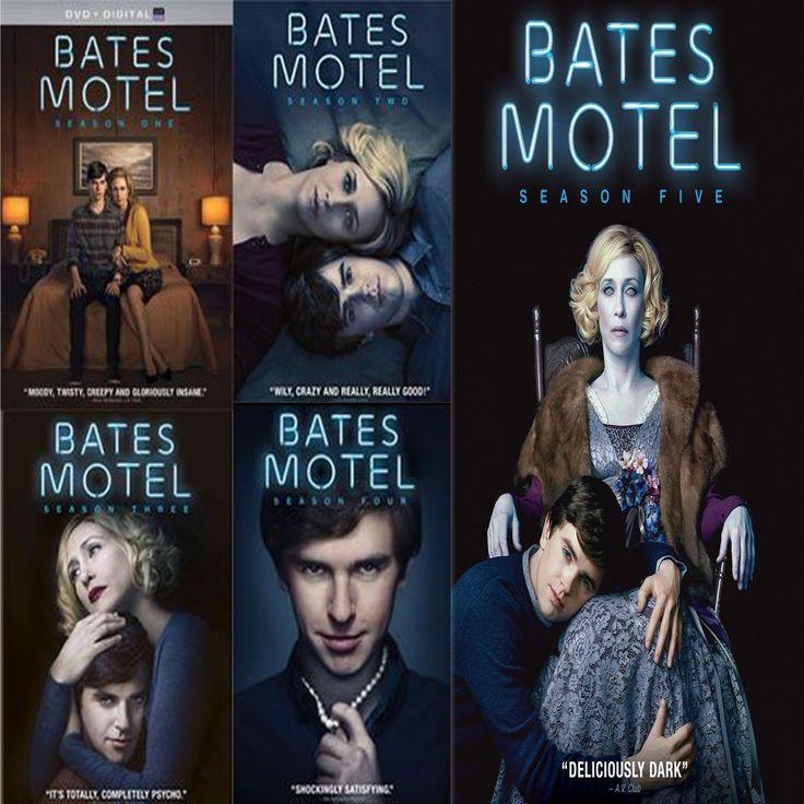 Bates Motel Seasons 1 5 Set On Dvd Bates Motel Bates Motel Tv Show Bates