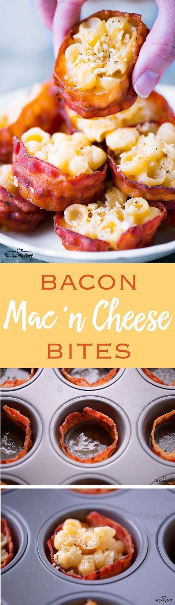 Bacon Mac and Cheese Bites - The Gunny Sack