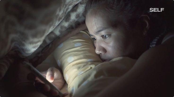 就寝1時間前にスマホをオフ 不眠症克服のための5TIPS