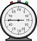 Cronómetro grande