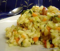 Risotto con zucchine e carote