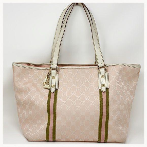 85132b80ae Spotted while shopping on Poshmark  Authentic Gucci Monogram Tote Bag!   poshmark  fashion  shopping  style  Gucci  Handbags