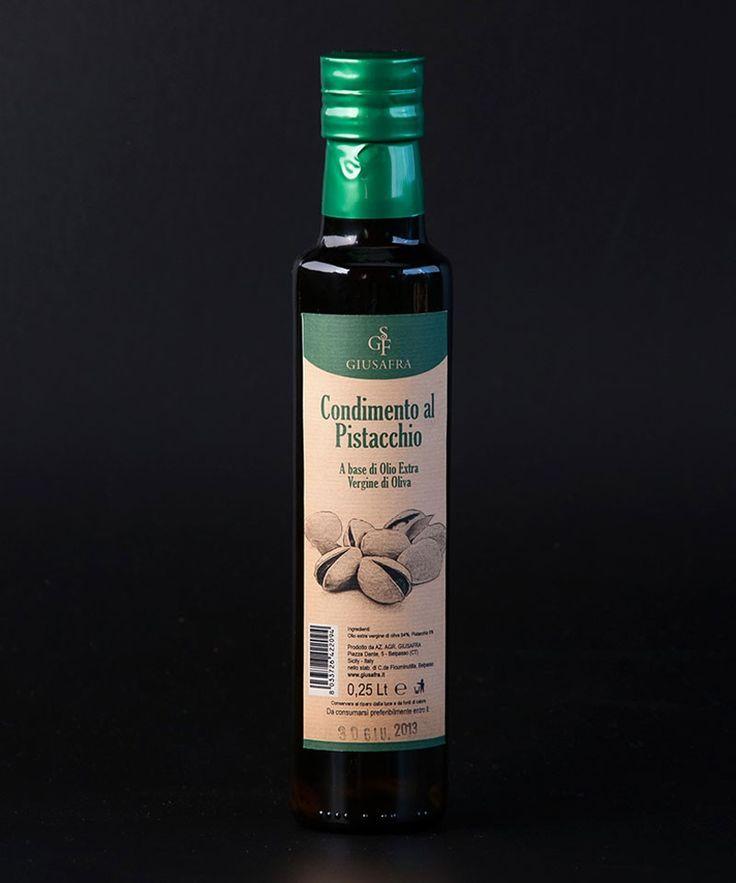 La Sicilia Store Olio extravergine di oliva aromatizzato al pistacchio