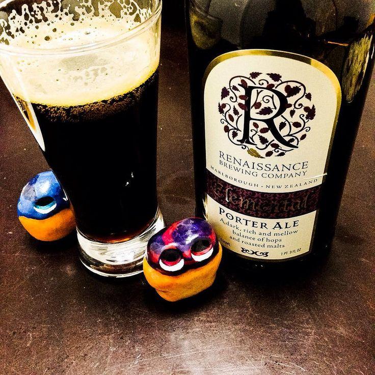 This NZ's tasty beer gives me energy ! 🍺  #mizumushikun #renaissancebrewing #renaissance #beer #porter #porterale #drink #drinking #tasty #yummy #newzealand #nz #good #nice #alcohol