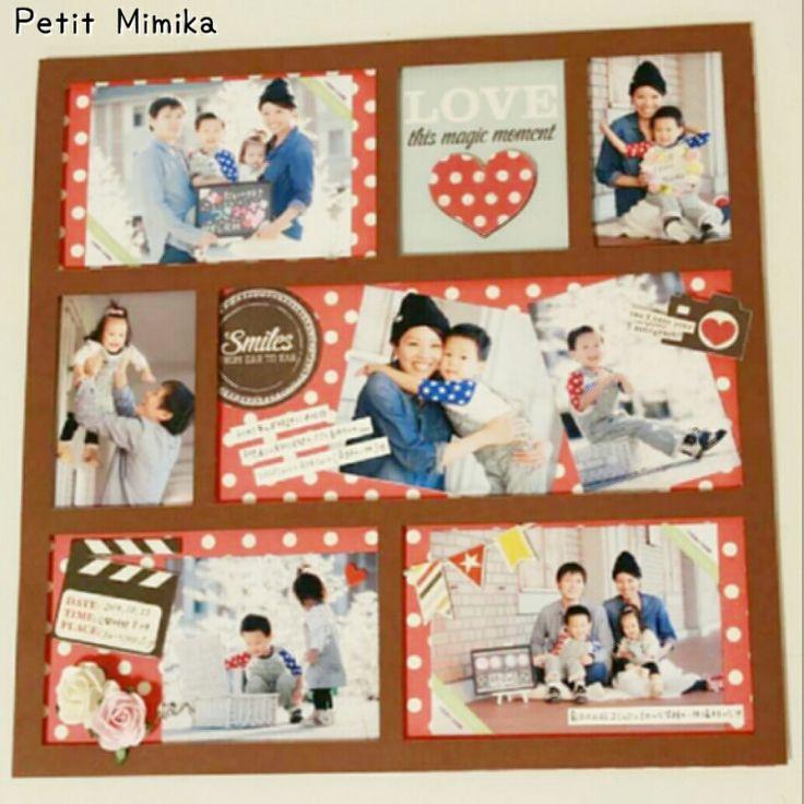 【7月 アルバムカフェ】 の画像|西宮・神戸【写真を可愛くデコって保存・整理】アルバム作りのお手伝い&スクラップブッキング☆Petit Mimika☆