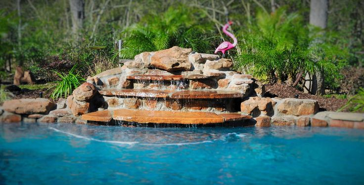 Best 25 pool water features ideas on pinterest pool - Swimming pools in college station tx ...