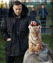 Kontra K mit Tiger Elsa