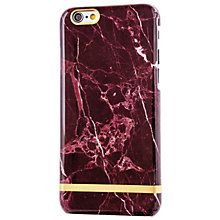 Richmond & FinchMarbleGlossi deksel for iPhone 6S (rød)