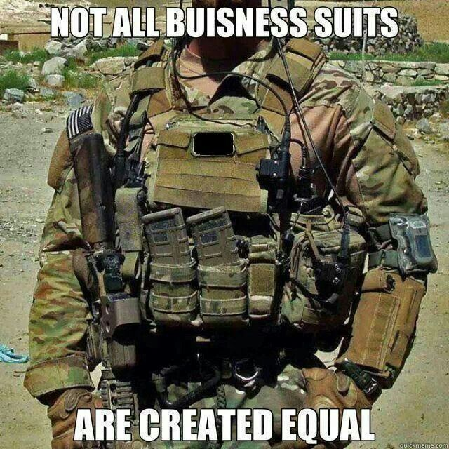 Military business suit - MilitaryAvenue.com