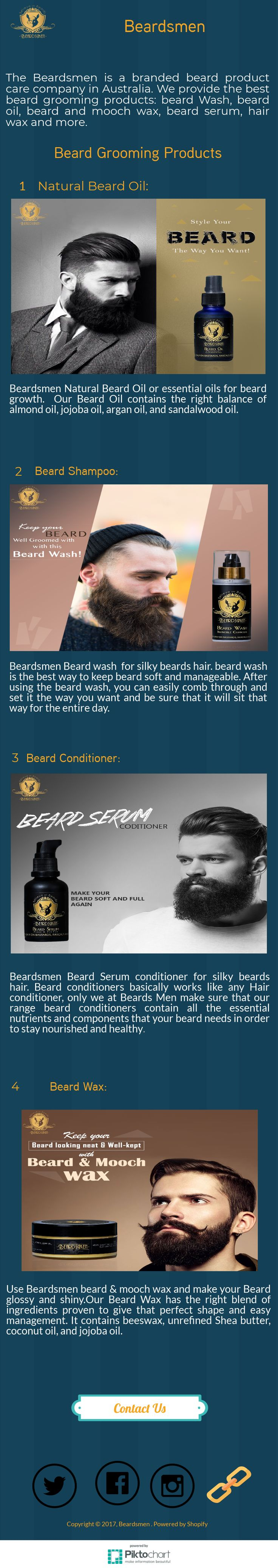 Maintain your beard is not a weekly task or a monthly ritual, it has to be taken care each day if you want to look good. So, the best way to maintain your hair with choosing the best Beard Grooming Products. #Beard_Grooming #Products