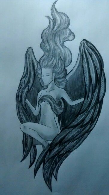 #angel  #blancoynegro