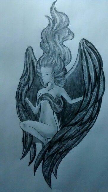 #angel  #blancoynegro