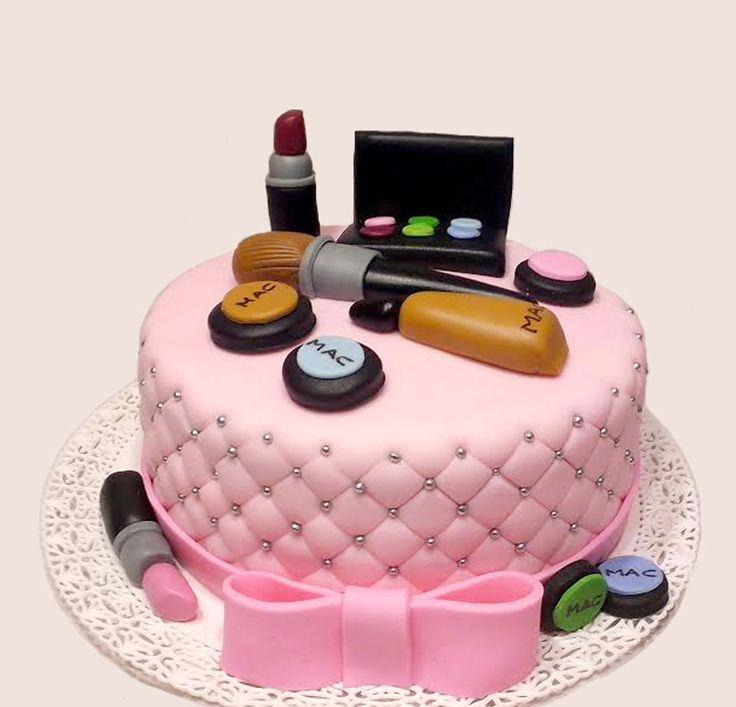 Torta maquillaje Make up cake