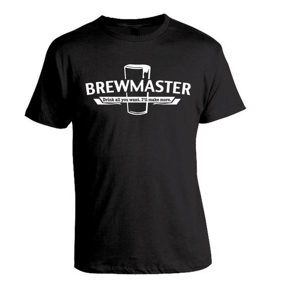 """""""Brewmaster - Drink All You Want, I'll Make More"""" Homebrew Craft Beer T-Shirt by brewershirts"""