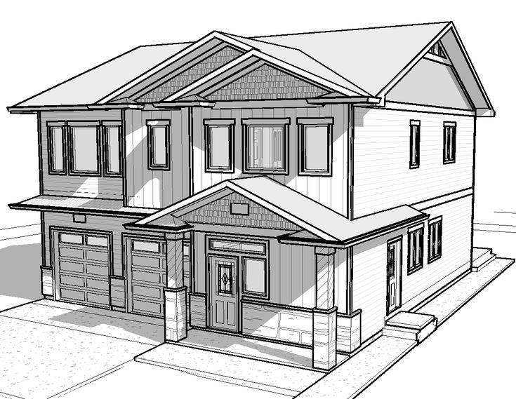 Simple White House Drawing Gallery Things To Draw Pinterest House Drawing Simple And