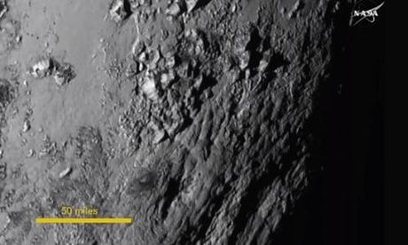 Pluto pictures: Nasa reveals first high-resolution images of surface | Science | The Guardian