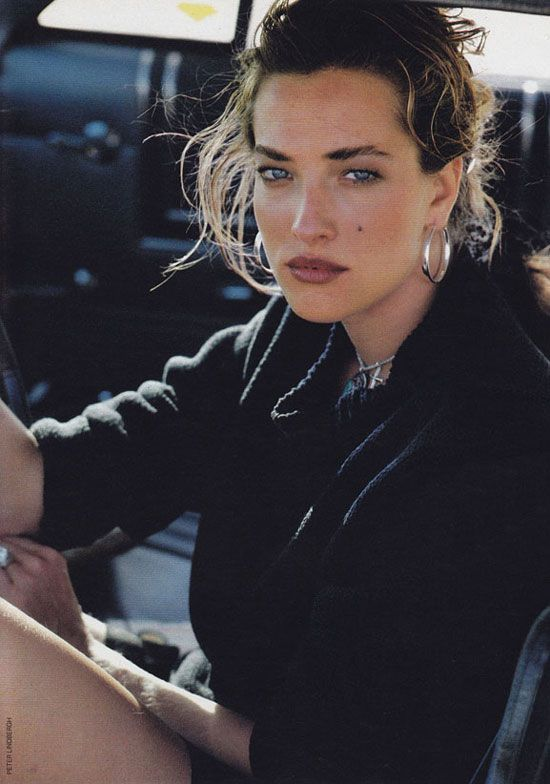 Tatjana Patitz photographed by Peter Lindbergh for Marie Claire France July 1987 via Fashioned by Love