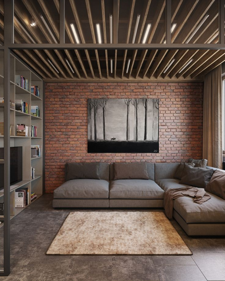 123 оригинальные идеи на фото как оформить интерьер маленькой квартиры в стиле лофт