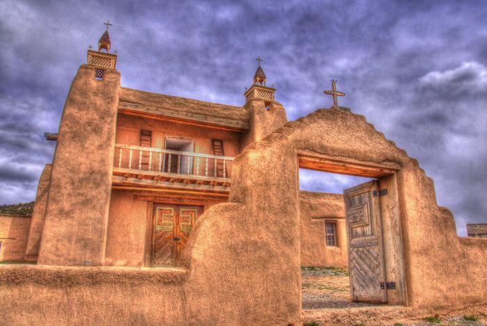 10. San José de Gracia Church, Las Trampas