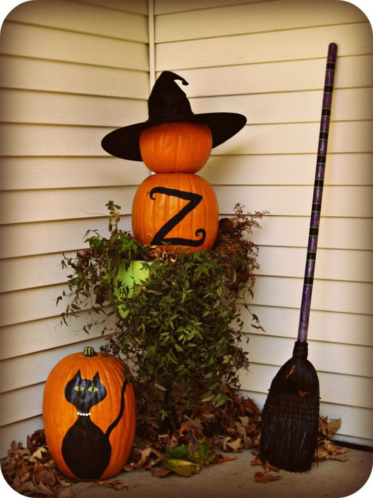 5 last minute easy halloween outdoor decorations - Last Minute Halloween Decorations