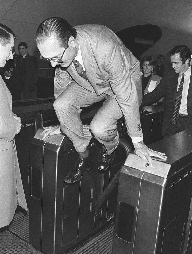 Jacques Chirac thug life