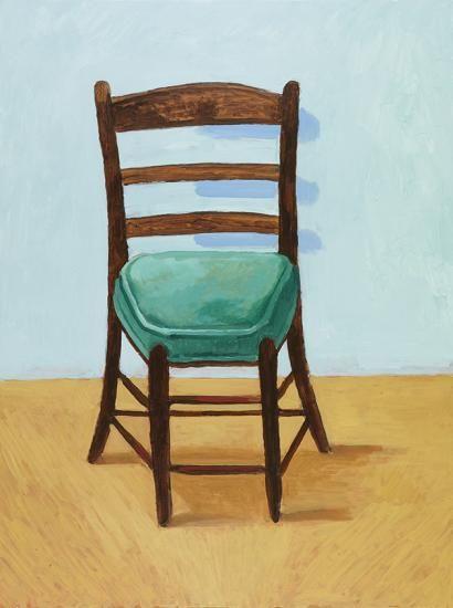 David Hockney - The Chair (2015)