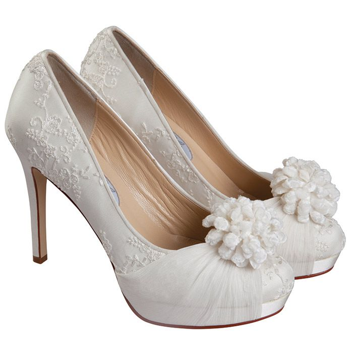Bon Bon High Heel Wedding Shoes - Diane Hassall - Rainbow Club