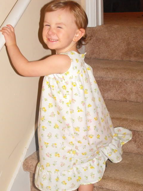 pillowcase nightgowns | Vintage nightgown tutorial...made from pillowcase - Cloth Diapers ...