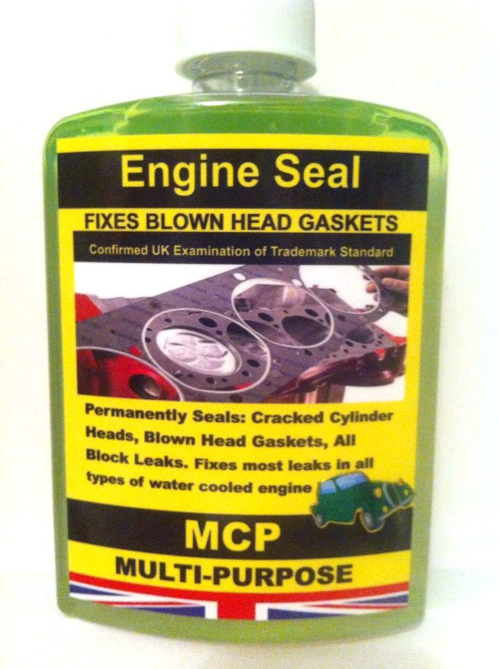 STEEL SEAL HEAD GASKET SEALER,MCP Used All Automotive Manufactures,,Professional