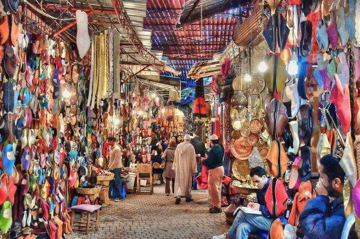 Souk...Morocco