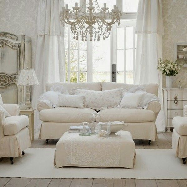 160 best images about small living rooms on pinterest - Dormitorio shabby chic ...