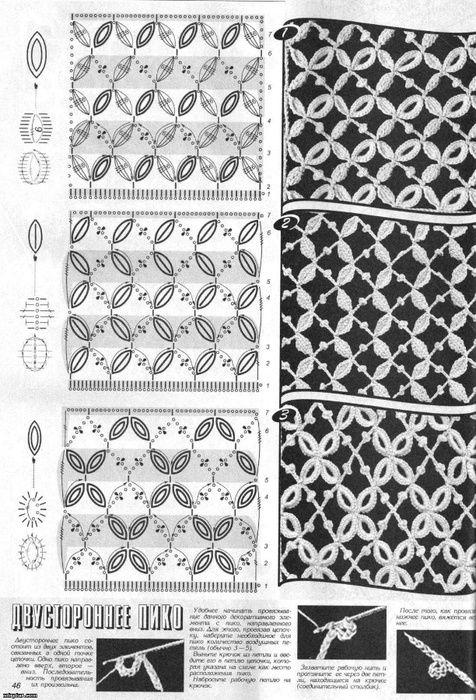 Mejores 518 imágenes de blusas crochet en Pinterest | Flores de ...