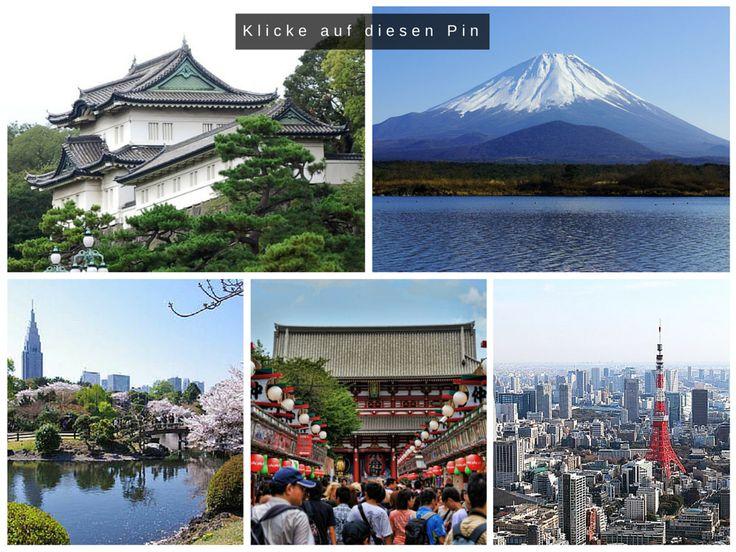 Pinne diesen Pin für später und teile ihn mit deinen Freunden!  Tokio - Der Kaiserpalast, der Fuji Vulkan, das Asakusa Viertel und der Tokyo Tower  Reisen muss nicht teuer sein. KIicke auf den Pin und erfahre die besten Tipps und Tricks, wie du für wenig Geld zu deinen Traumzielen kommst.  Tags: Reisen, Urlaub, Reiseziele, Orte, Places, Welt, Stadt, Städte, Asien, Japan