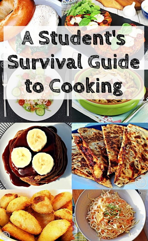 A Student's Survival Guide to Cooking - check out my foodie tips and recipe suggestions that will make cooking and shopping at uni a breeze!