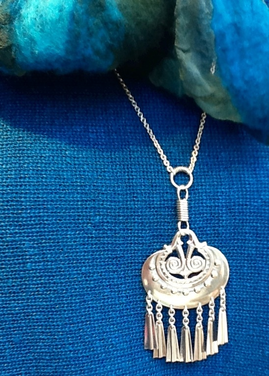 Kalevala jewellery. The english name for this design - moon goddess - is so amazing.