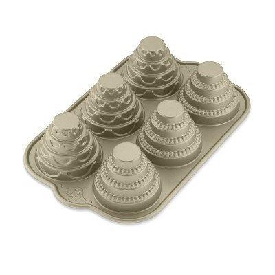Nordic Ware Mini Tiered Cakelet Pan ($36)