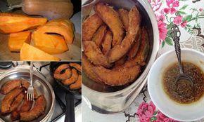 Nar Ekşili Balkabağı Kızartması                         -  Nurdan Çakır Tezgin #yemekmutfak