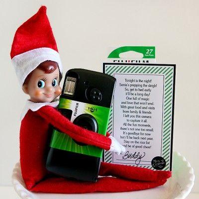 Elf on The Shelf Goodbye Gift
