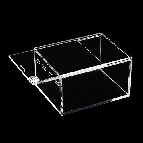 REPTILE TANK   1. The First Acrylic Reptile terrarium on the market you can enjoy a 360 Degree View of your pet.  2. Acrylic is the best transparent high polymer material currently available the acr...