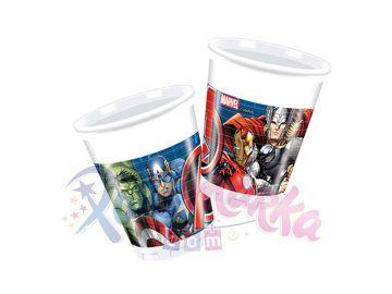 Avengers Yenilmezler Doğum Günü Bardakları