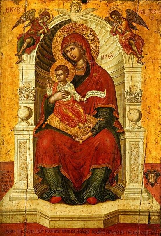 .Our Lady of Lombobitissa (how it is described by photographer, though couldn't find info on it).