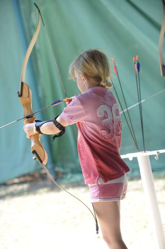 Experience archery at Club Med Ixtapa, Mexico