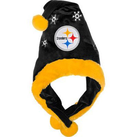 ~Pittsburgh Steelers Mascot Thematic Santa Hat~backorder