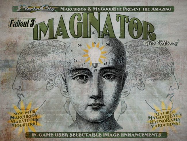 The IMAGINATOR for FO3 - Visual Control Device at Fallout3 Nexus - mods and community