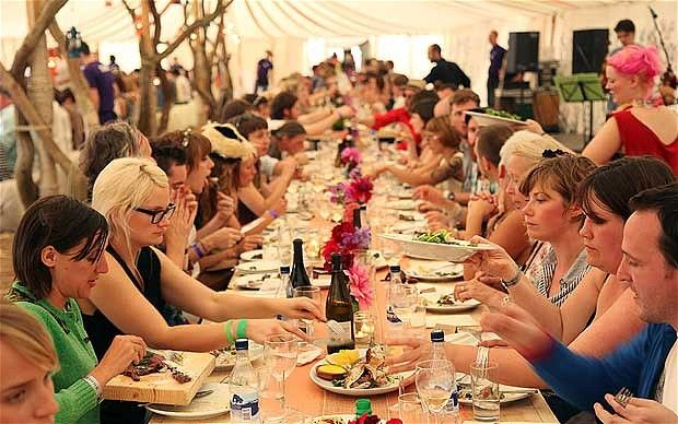 Great British food festivals: Wilderness Festival  August 10 - 12 Combining food, vintage clothes, music, talks and revelry, this is where to celebrate some of the country's most popular chefs - at long tables set up for banqueting in 5,000 acres of ancient forest and Oxfordshire parkland.