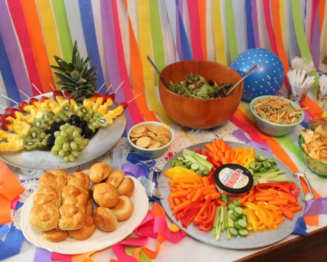 Healthy Birthday Party Snacks
