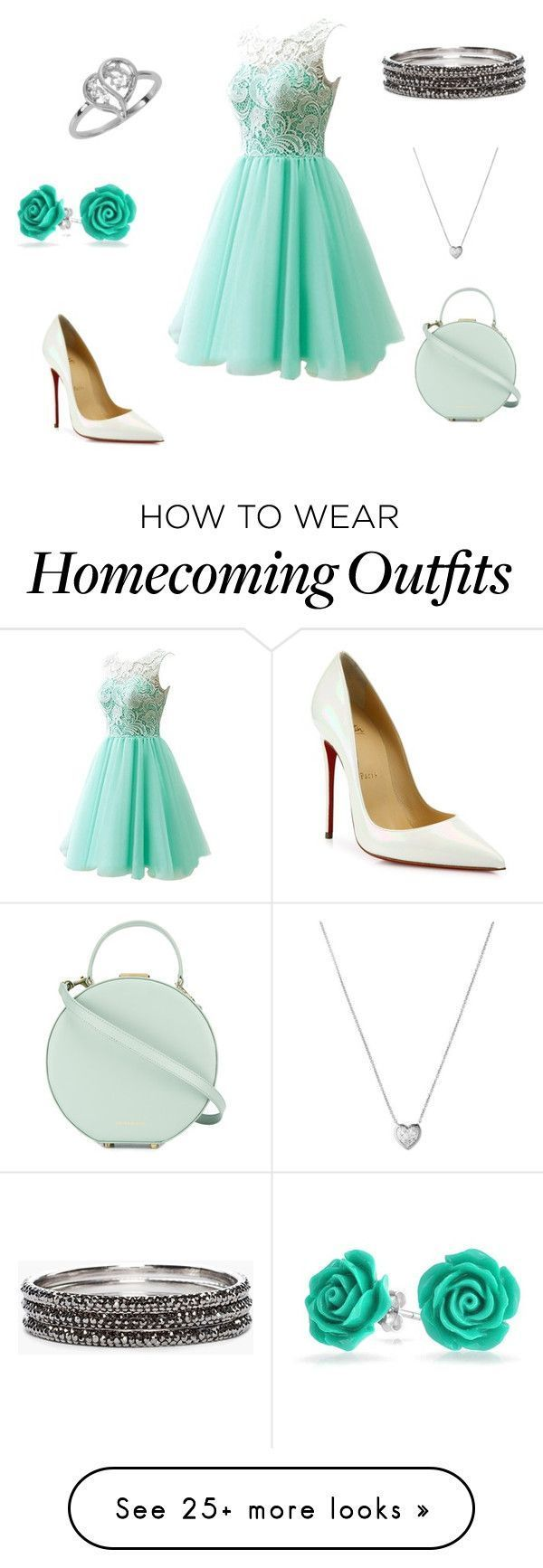"""Sin título #572"" by vickyfa on Polyvore featuring Christian Louboutin, Tammy & Benjamin, Links of London and Chico's #manoloblahnikheelschristianlouboutin"