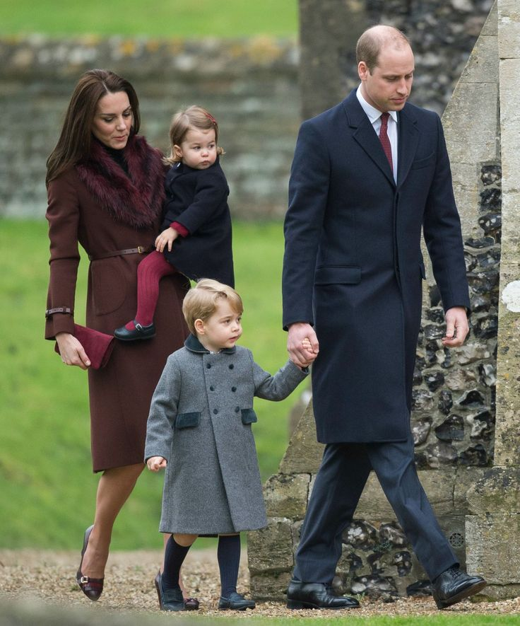 Prince George and Princess Charlotte spend Christmas with the Middletons - December 25, 2016